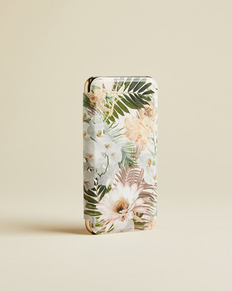 Ted Baker HHELENA Woodland iPhone X mirror case