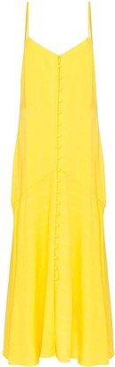 Mara Hoffman Diana Button-Down Maxi Dress