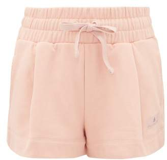 adidas by Stella McCartney Essentials French-cotton Terry Shorts - Womens - Light Pink