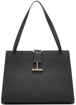 Tom Ford Tara Medium leather tote