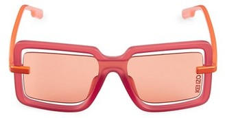 Kenzo Transparent Square Injected Sunglasses