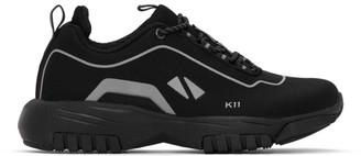 all in Black K11 Sneakers