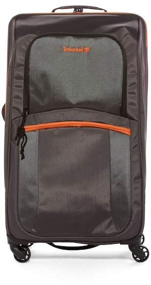 """Timberland Bay Circuit 24\"""" Expandable Spinner Suitcase"""