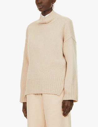 Frame Turtleneck wool-blend jumper