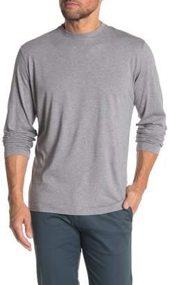 Travis Mathew Heathered Long Sleeve T-Shirt