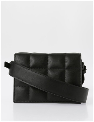 Miss Shop Quilted Mini Crossbody Bag