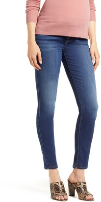 7 For All Mankind b(air) Ankle Skinny Maternity Jeans