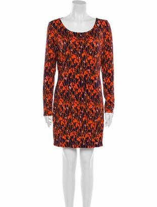 Matthew Williamson Floral Print Mini Dress w/ Tags