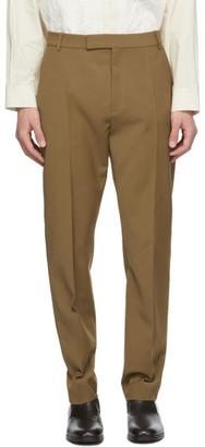 Deveaux Brown Wool Jasper Trousers
