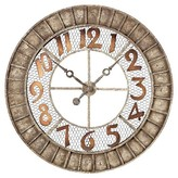 Lazy Susan 36 in. Montana Wall Clock