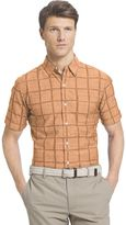 Izod Men's Windowpane Shirt