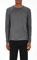 Barneys New York Men's Zip-Detailed T-Shirt