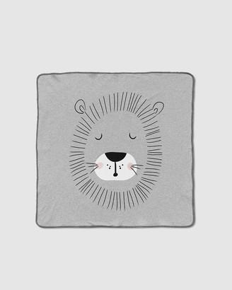 Mister Fly Lion Face Blanket