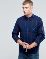 NATIVE YOUTH Oversized Check Shirt