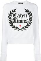 DSQUARED2 Caten Twins wreath sweatshirt