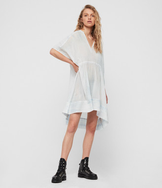 AllSaints Isme Tie Dye Dress