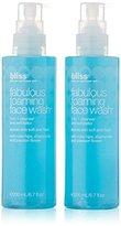 Bliss Fabulous Foaming Face Wash Gel Set, 6.7 oz.