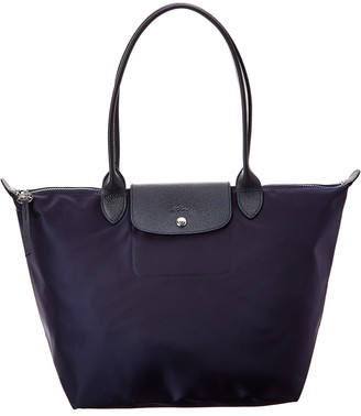 Longchamp Le Pliage Neo Large Nylon Long Handle Tote