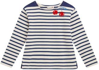 Bonpoint Kids Breton Striped T-shirt