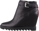 Ash Iona Wedge Bootie, Black