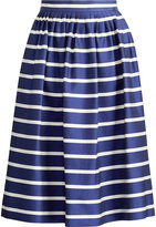 Ralph Lauren Striped A-Line Skirt