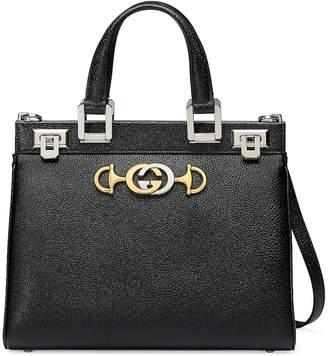 Gucci Zumi Top Handle Bag in Black | FWRD