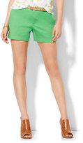 """New York & Co. Soho Jeans - Hampton 4"""" Twill Short - Solid"""