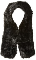 Hat Attack Long Faux Fur Collar Scarves