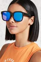Forever 21 Mirrored Square Sunglasses