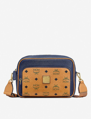 MCM Klass coated-canvas cross-body bag
