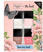 Butter London Love Me Knot 4-pc. Nail Lacquer Collection