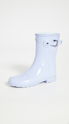 Hunter Original Refined Short Gloss Boots