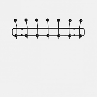 Maze Interior - Horizontal Bill Hook - WHITE - Black/White