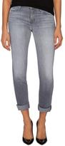 J Brand Faded Wide Cuff Skinny Jean