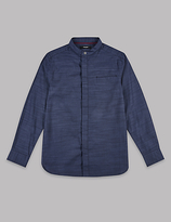 Autograph Pure Cotton Textured Shirt (3-14 Years)