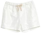 Wheat Girls' Serine Shorts, White