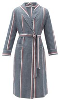 P. Le Moult - Cotton Robe - Mens - Navy