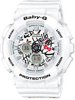 Baby-G Hello Kitty Ana-Digi Resin-Strap Watch