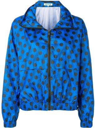 Kenzo Wavy dots windbreaker jacket
