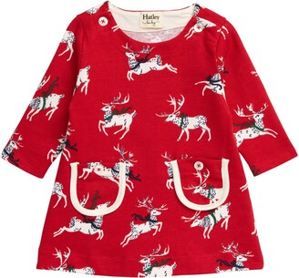 Hatley Prancing Deer Dress