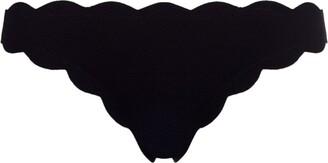 Marysia Swim Antibes Scalloped Bikini Bottoms