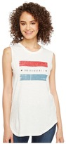Alternative Washed Slub Inside Out Sleeveless Tee Women's Sleeveless