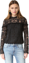 Tularosa Holly Lace Top