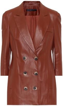 Zeynep Arã§Ay Leather blazer