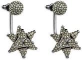 Swarovski Kalix Pierced Earring Jackets, Gunmetal plating