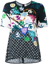 Peter Pilotto floral print top - women - Viscose - 8