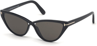 Tom Ford Charlie Cat-Eye Acetate Sunglasses