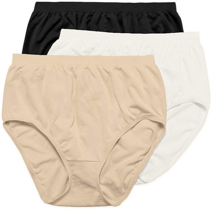 Jockey Comfies 3 Pair Microfiber Brief Panty 3328