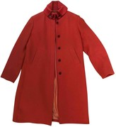 Fay Pink Wool Coat for Women