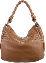 Bottega Veneta Intrecciato-Trimmed Tote Bag